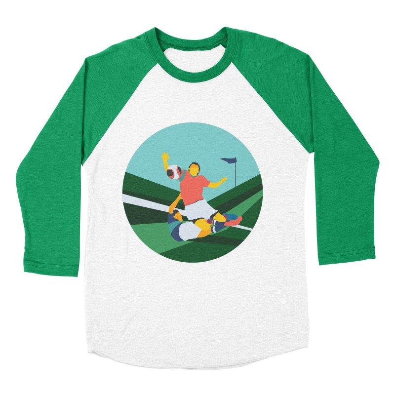 Soccer Women's Baseball Triblend Longsleeve T-Shirt by · STUDI X-LEE ·
