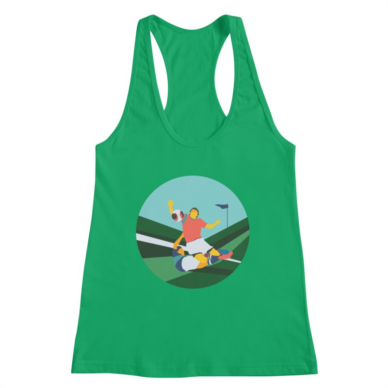 Soccer Women's Tank by · STUDI X-LEE ·