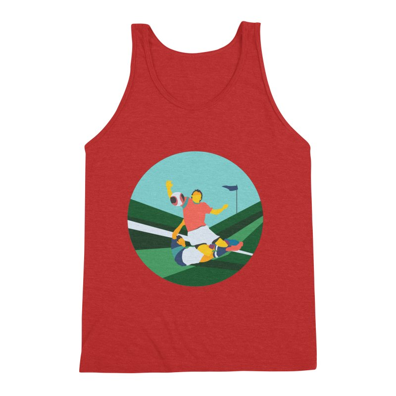 Soccer Men's Triblend Tank by · STUDI X-LEE ·