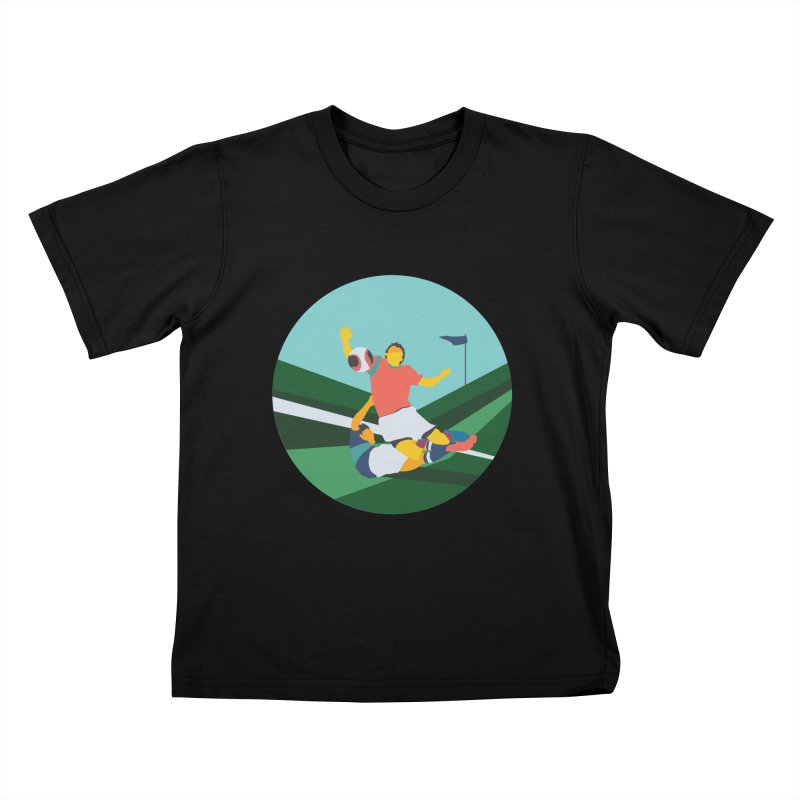 Soccer Kids T-Shirt by INK. ALPINA