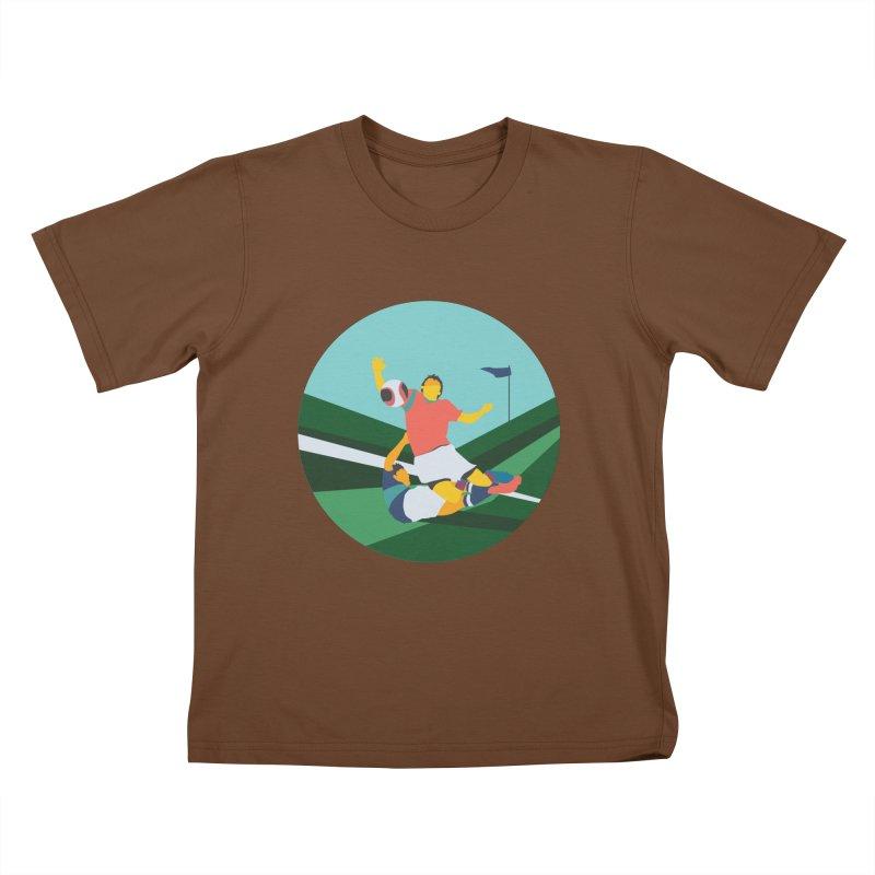 Soccer Kids T-Shirt by · STUDI X-LEE ·