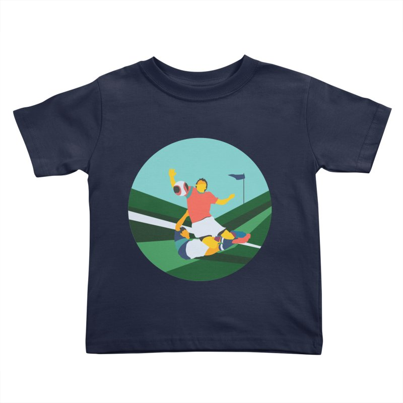 Soccer Kids Toddler T-Shirt by · STUDI X-LEE ·