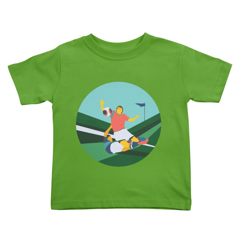 Soccer Kids Toddler T-Shirt by · STUDI X-LEE ·