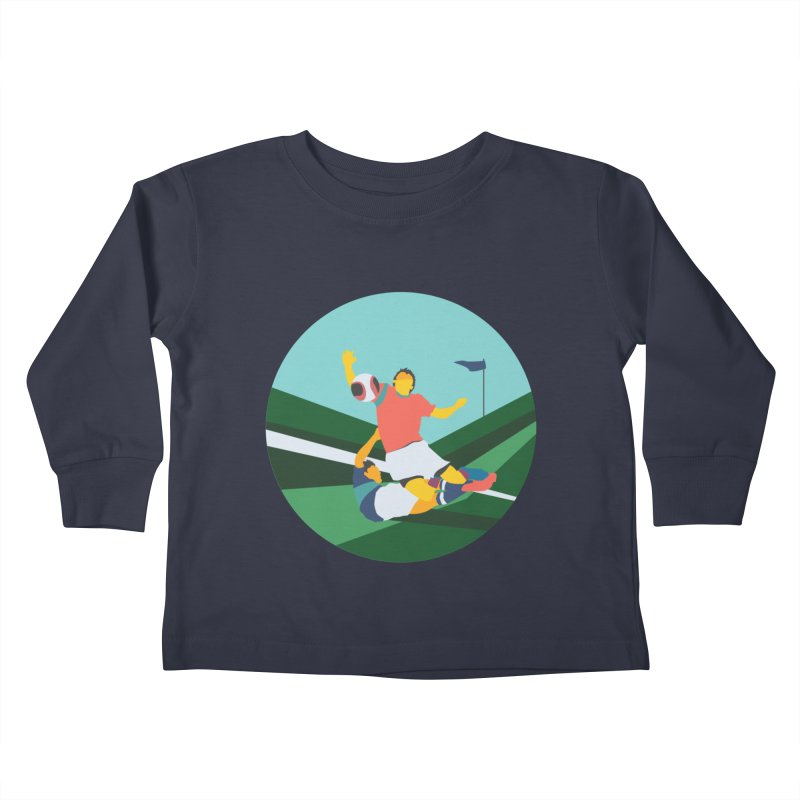 Soccer Kids Toddler Longsleeve T-Shirt by · STUDI X-LEE ·