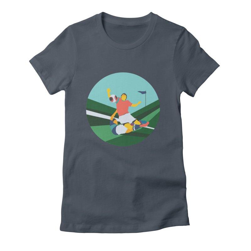 Soccer Women's T-Shirt by · STUDI X-LEE ·