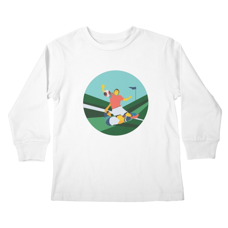 Soccer Kids Longsleeve T-Shirt by INK. ALPINA