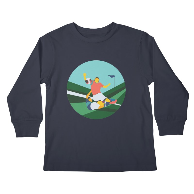 Soccer Kids Longsleeve T-Shirt by · STUDI X-LEE ·