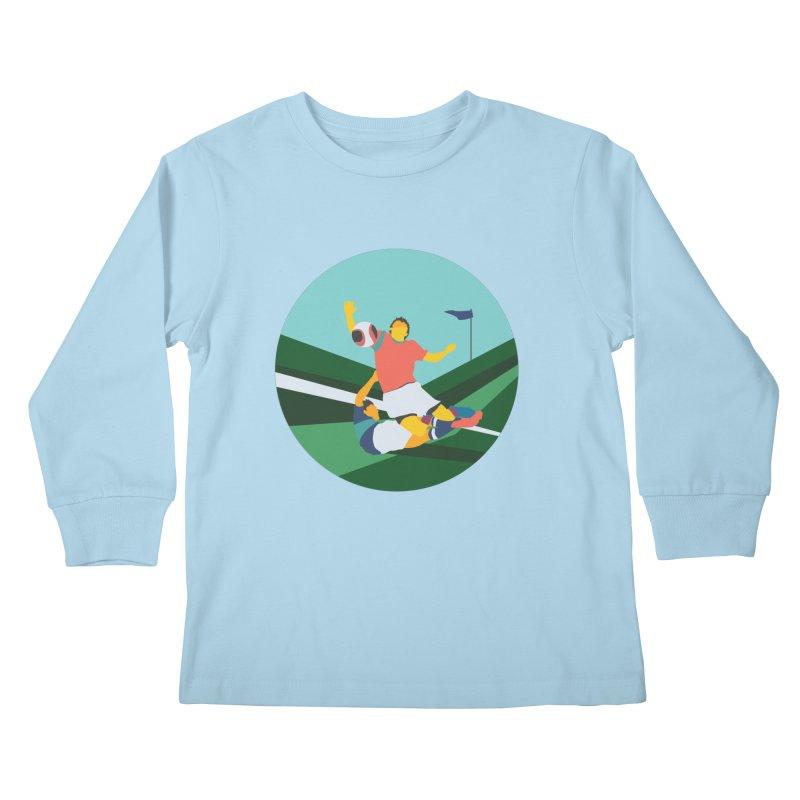Soccer Kids Longsleeve T-Shirt by · STUDI X-LEE ·