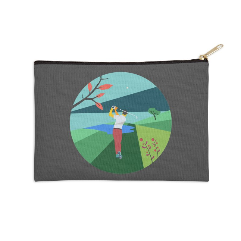Golf Accessories Zip Pouch by INK. ALPINA