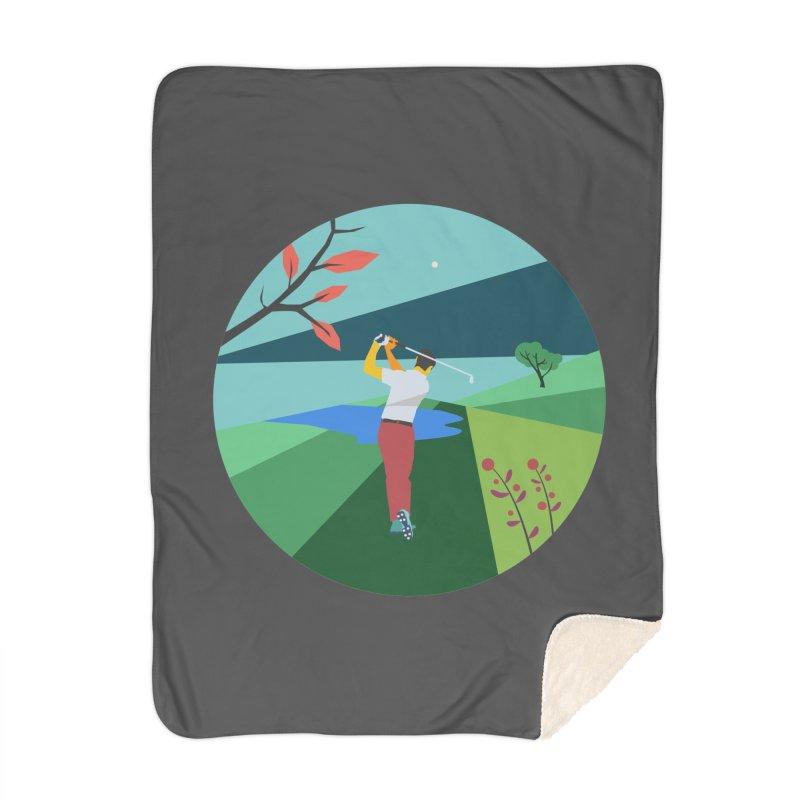 Golf Home Blanket by · STUDI X-LEE ·