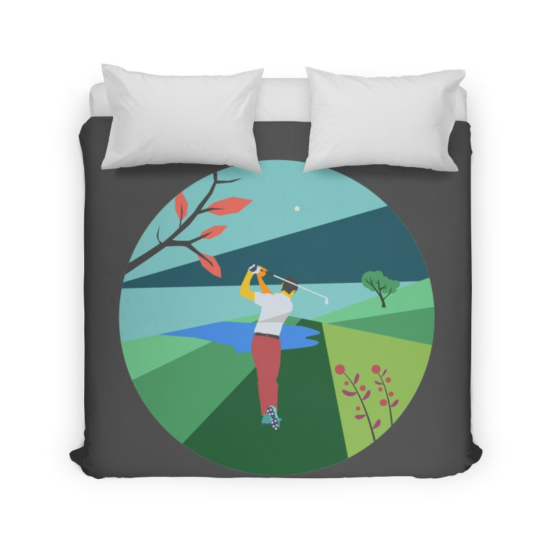 Golf Home Duvet by · STUDI X-LEE ·
