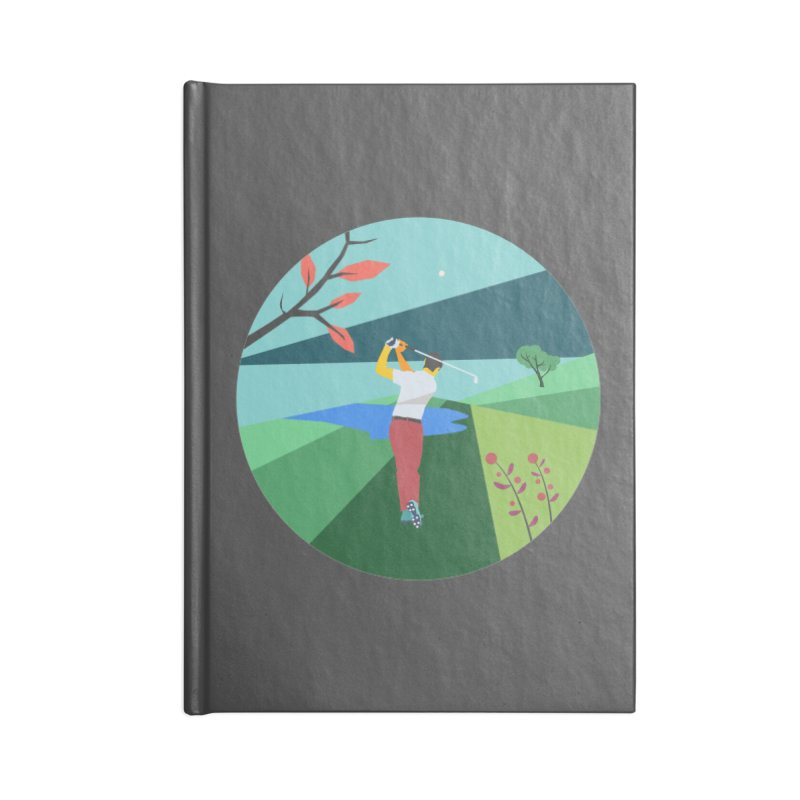 Golf Accessories Notebook by INK. ALPINA