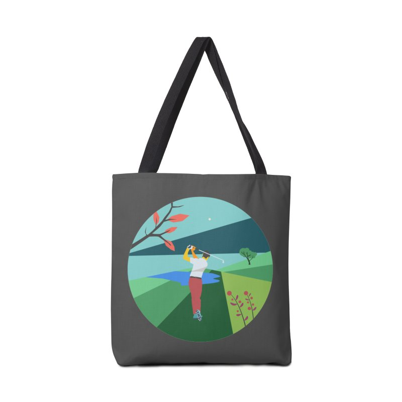 Golf Accessories Bag by INK. ALPINA