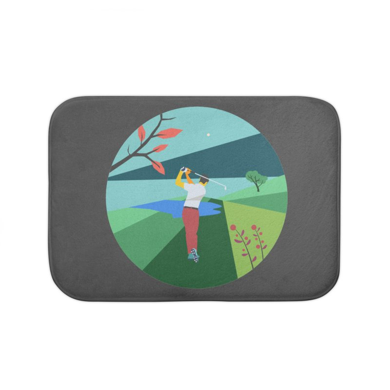 Golf Home Bath Mat by · STUDI X-LEE ·