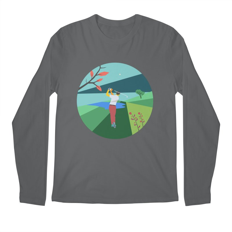 Golf Men's Longsleeve T-Shirt by INK. ALPINA