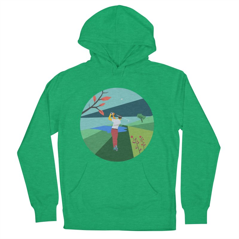 Golf Women's French Terry Pullover Hoody by · STUDI X-LEE ·