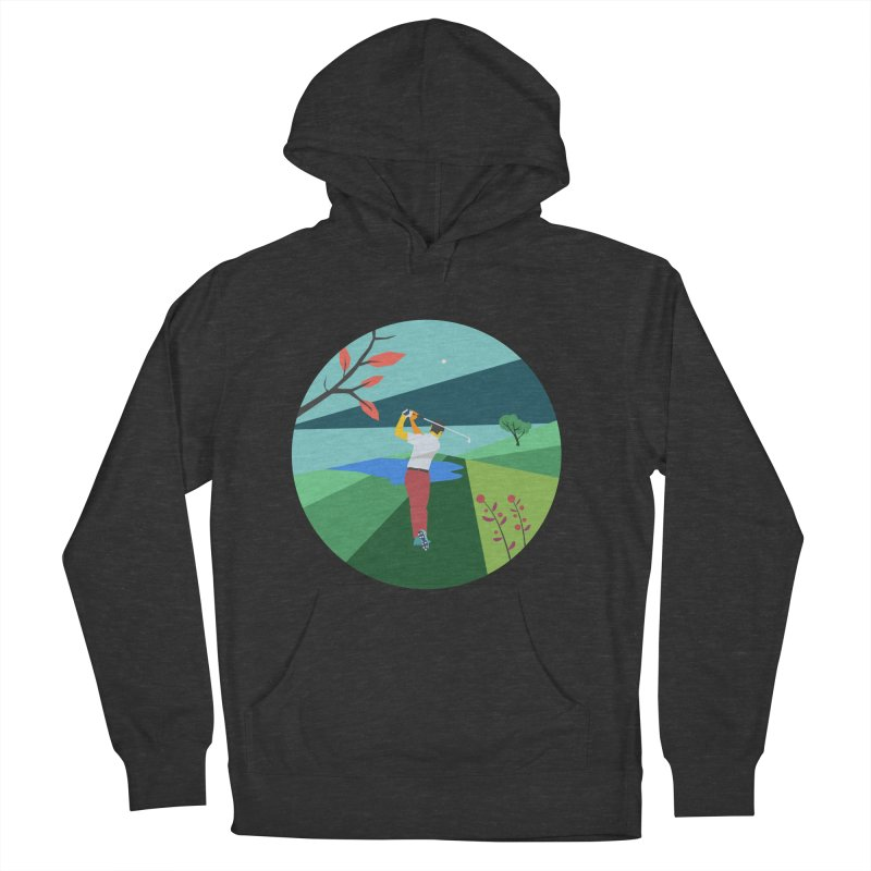 Golf Women's French Terry Pullover Hoody by INK. ALPINA