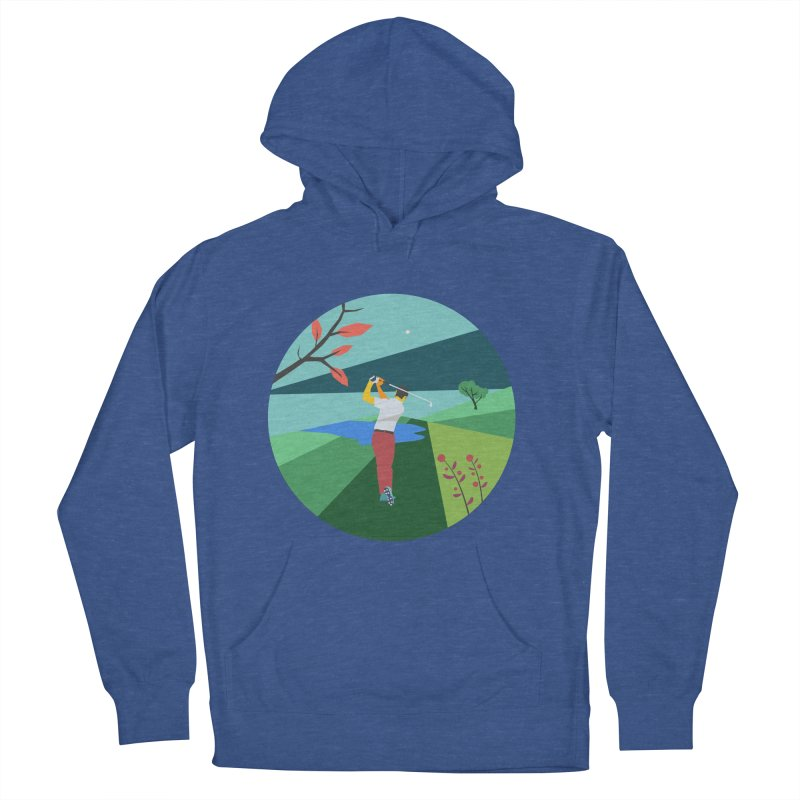 Golf Men's French Terry Pullover Hoody by INK. ALPINA