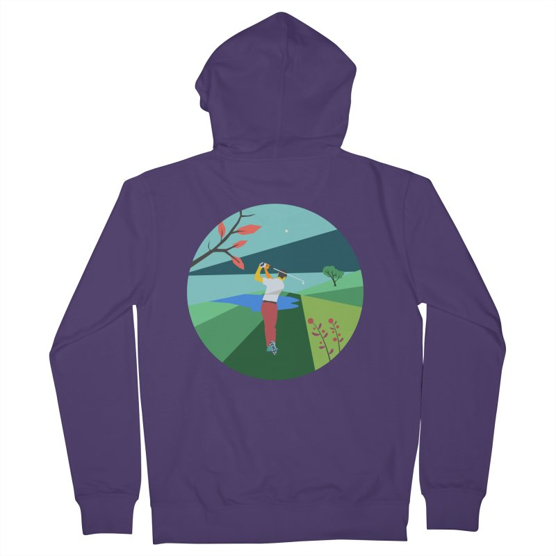 Golf Women's French Terry Zip-Up Hoody by INK. ALPINA