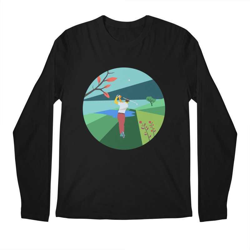 Golf Men's Longsleeve T-Shirt by · STUDI X-LEE ·