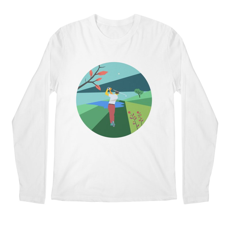Golf Men's Regular Longsleeve T-Shirt by INK. ALPINA