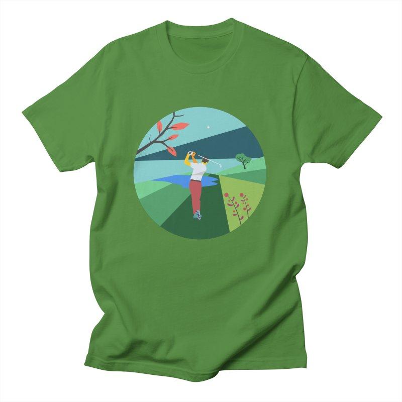 Golf Men's Regular T-Shirt by · STUDI X-LEE ·