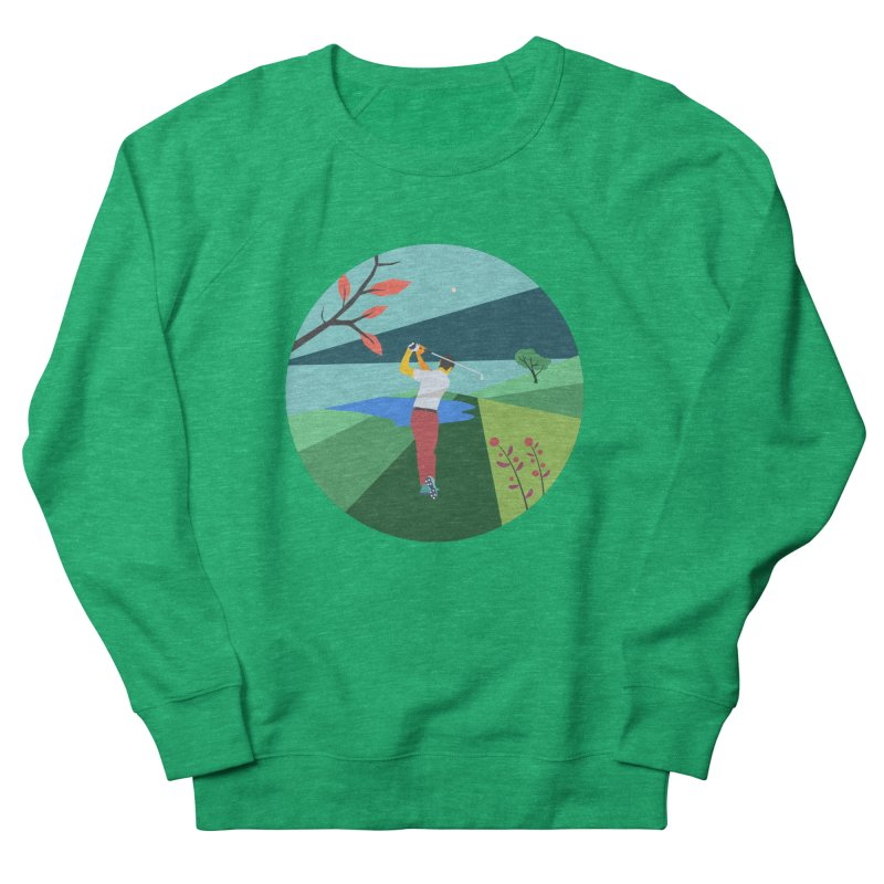 Golf Women's Sweatshirt by · STUDI X-LEE ·