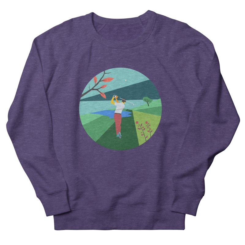 Golf Women's French Terry Sweatshirt by INK. ALPINA