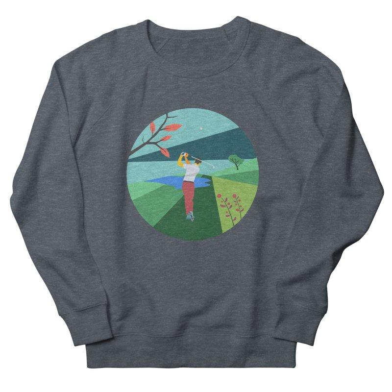 Golf Women's French Terry Sweatshirt by INK. ALPINA