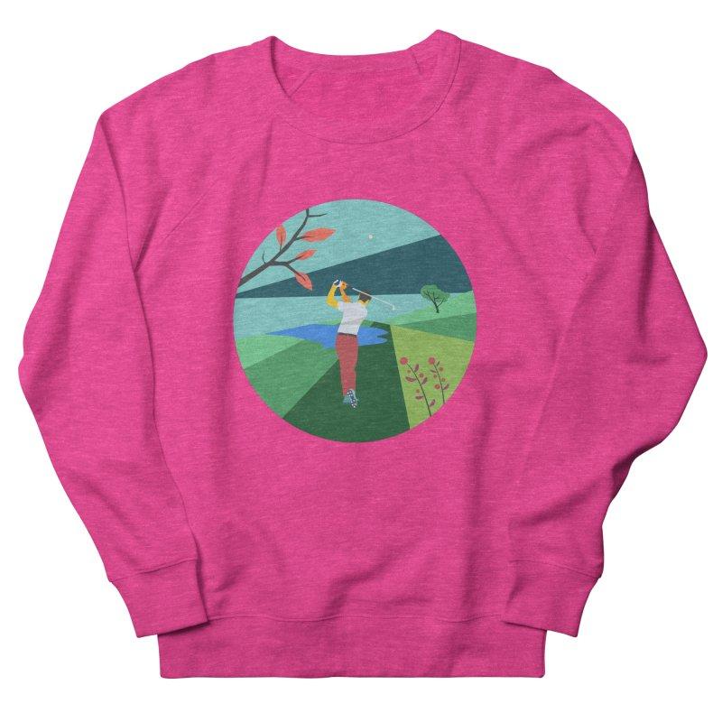 Golf Women's French Terry Sweatshirt by · STUDI X-LEE ·