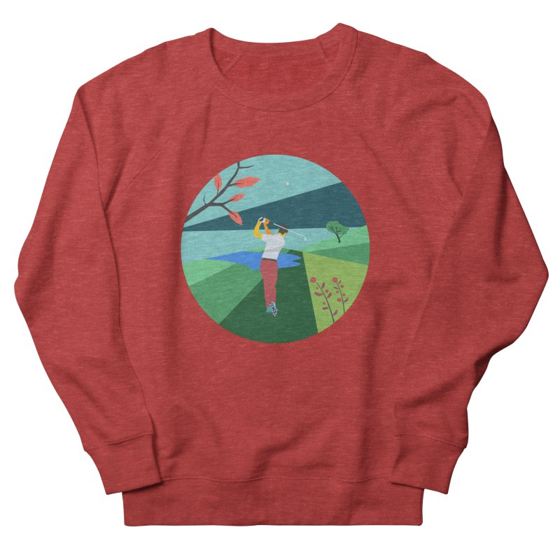 Golf Men's French Terry Sweatshirt by INK. ALPINA