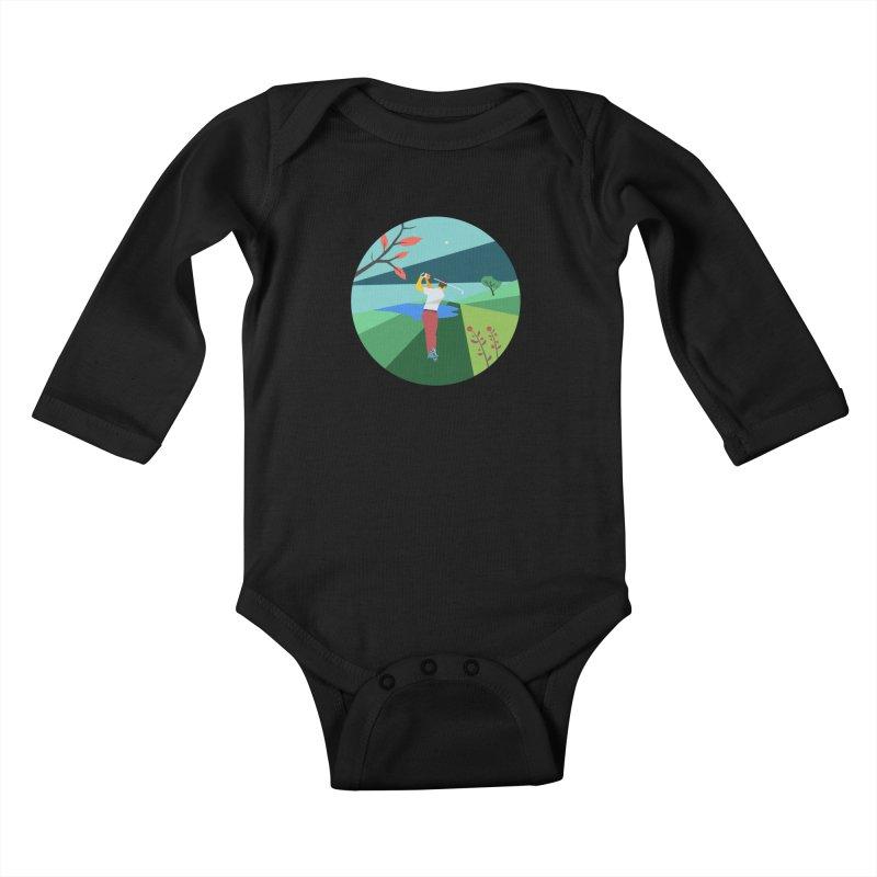 Golf Kids Baby Longsleeve Bodysuit by · STUDI X-LEE ·