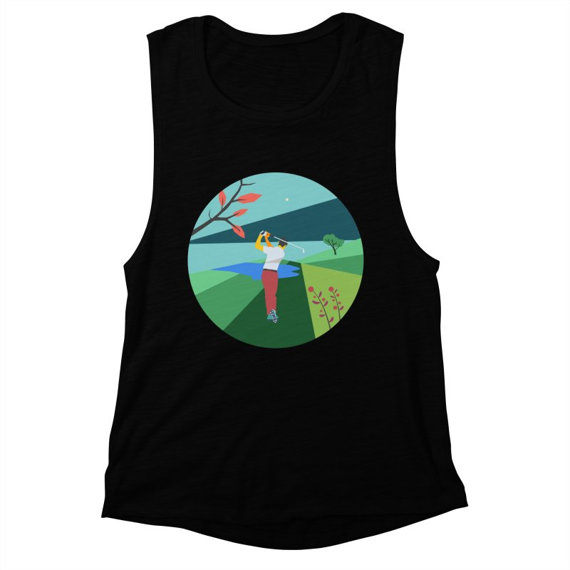 Golf Women's Tank by · STUDI X-LEE ·