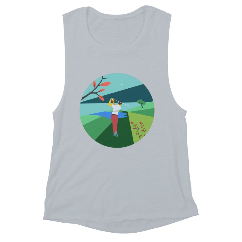 Golf Women's Muscle Tank by · STUDI X-LEE ·