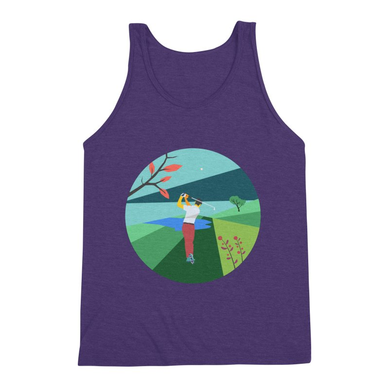 Golf Men's Triblend Tank by · STUDI X-LEE ·