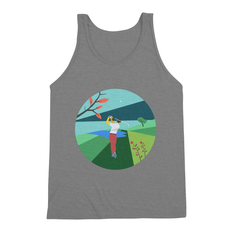 Golf Men's Tank by · STUDI X-LEE ·