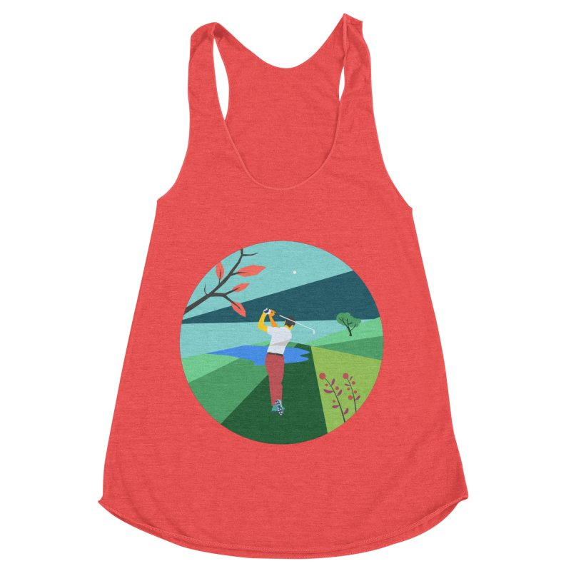 Golf Women's Tank by · STUDI X-LEE ·