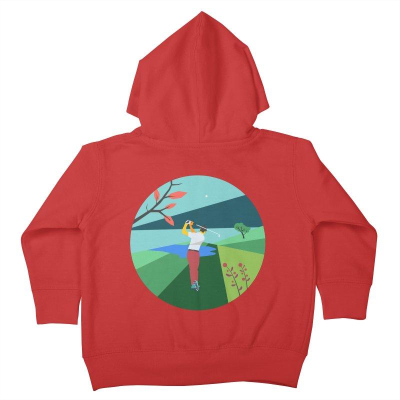 Golf Kids Toddler Zip-Up Hoody by · STUDI X-LEE ·