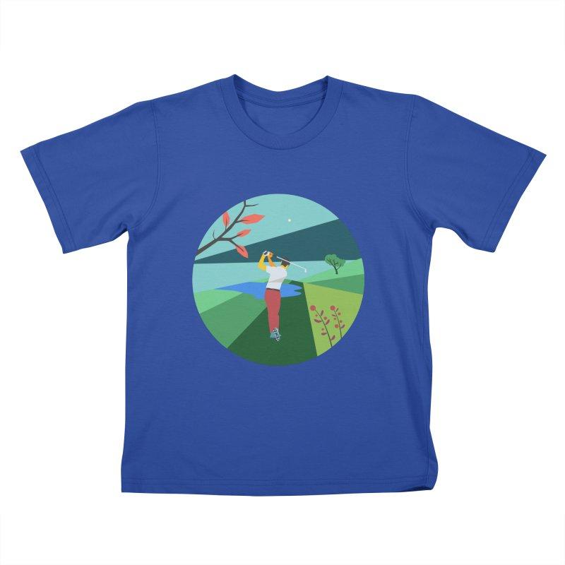 Golf Kids T-Shirt by · STUDI X-LEE ·