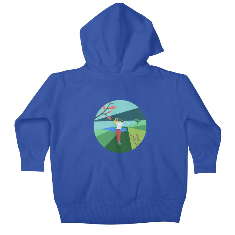 Golf Kids Baby Zip-Up Hoody by · STUDI X-LEE ·