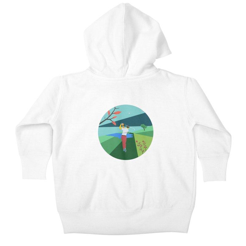 Golf Kids Baby Zip-Up Hoody by · STUDI X-LEE ·
