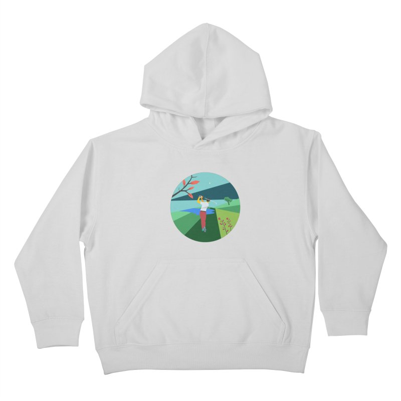 Golf Kids Pullover Hoody by INK. ALPINA