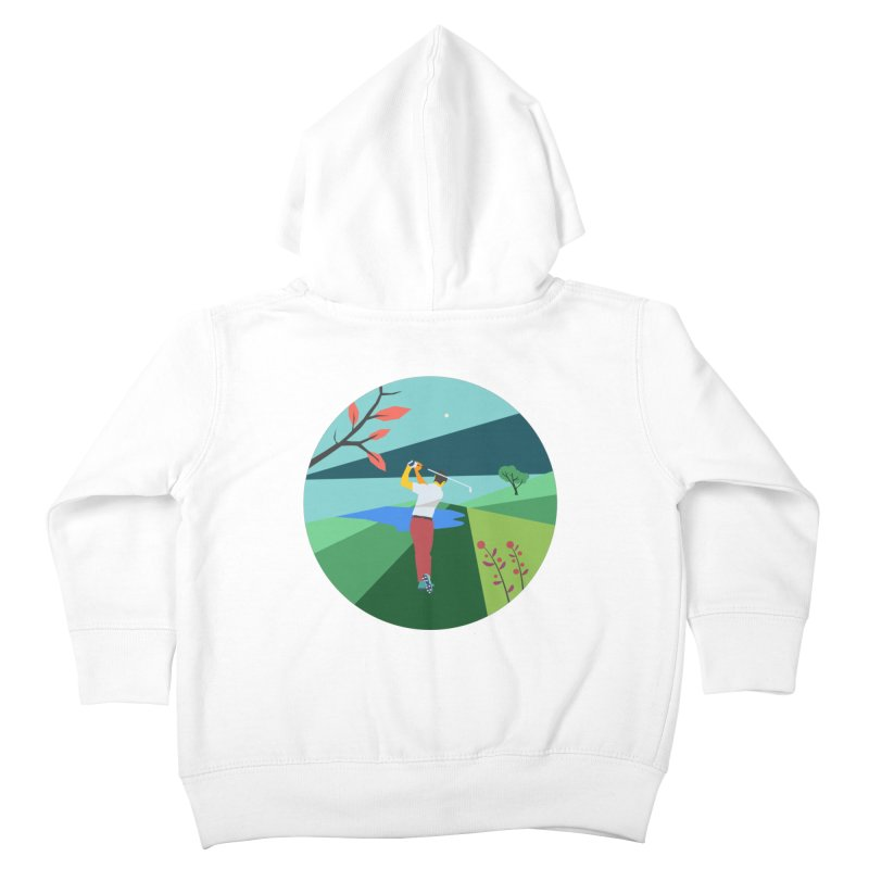 Golf Kids Toddler Zip-Up Hoody by · STUDI X-LEE ·