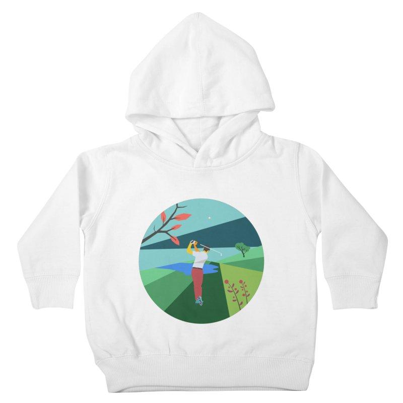 Golf Kids Toddler Pullover Hoody by · STUDI X-LEE ·