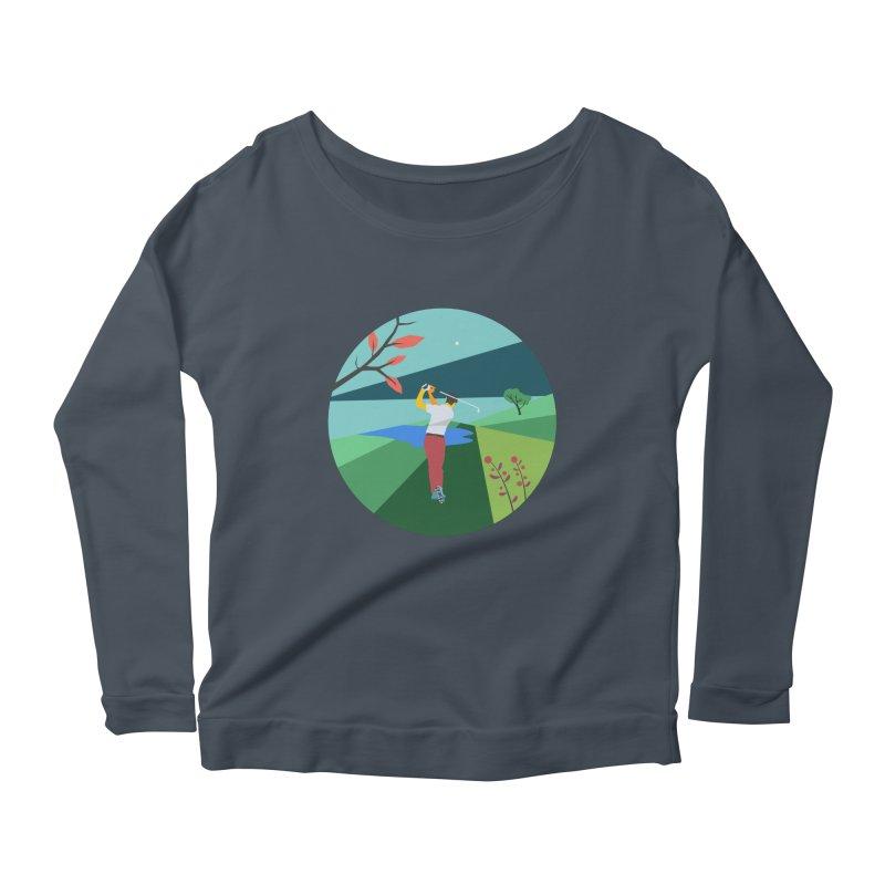 Golf Women's Scoop Neck Longsleeve T-Shirt by · STUDI X-LEE ·