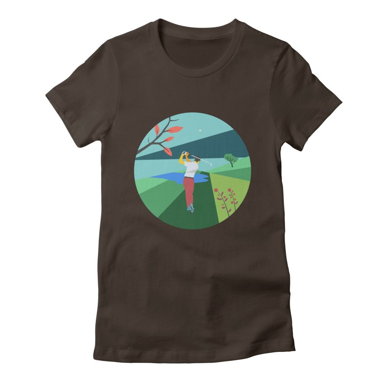 Golf Women's T-Shirt by · STUDI X-LEE ·