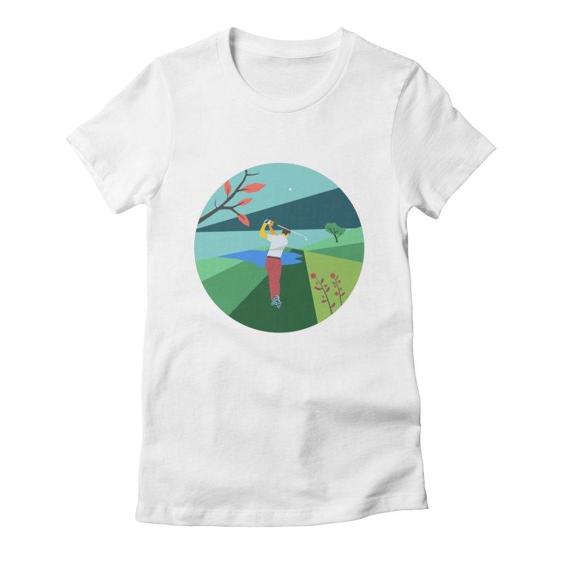 Golf Women's T-Shirt by · STUDI X-LEE ·