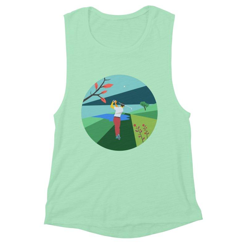 Golf Women's Muscle Tank by · STUDI X-LEE ·