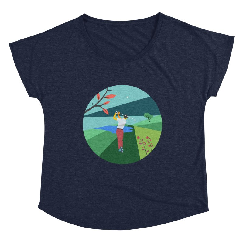 Golf Women's Scoop Neck by · STUDI X-LEE ·