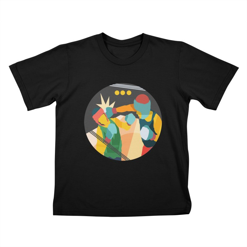 Boxing Kids T-Shirt by INK. ALPINA